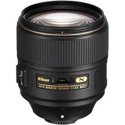 Nikon 105mm f1.4E ED AF-S Lens