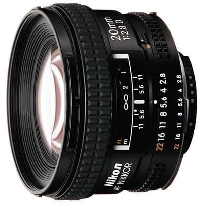 Nikon 20mm f2.8 D AF Lens