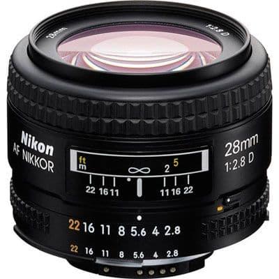 Nikon 28mm f2.8 D AF Lens