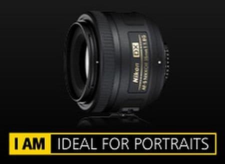 Nikon 35mm AF-S DX NIKKOR f/1.8G