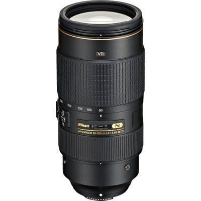 Nikon 80-400mm AF-S Nikkor f4.5-5.6G ED VR Lens