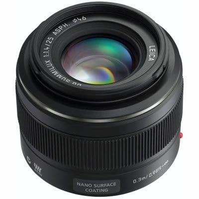 Panasonic 25mm f1.4 Leica DG Micro Four Thirds lens