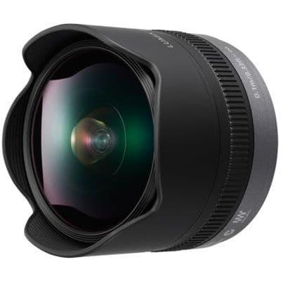 Panasonic 8mm f3.5 Lumix G Fisheye Micro Four Thirds Lens