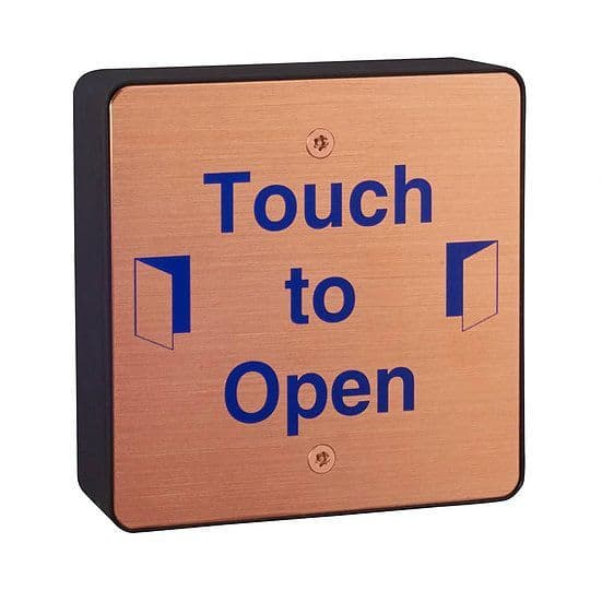 Copper Push pad (kills 99.9% of germs) wireless with transmitter/ Hardwired