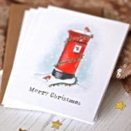 Arbee | Post Box Christmas Card Pack
