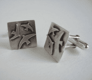 Becky Crow Swift Cufflinks
