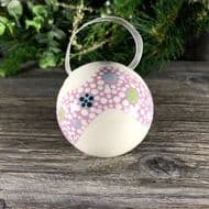 Claire Newell Porcelain Bauble (Pink)