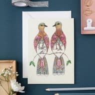 Daniel Mackie   Two Turtle Doves Card