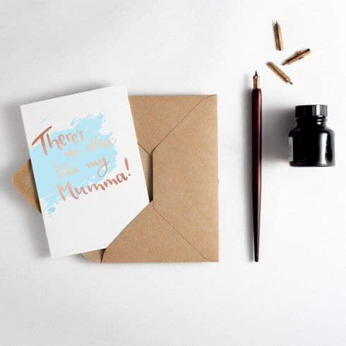 Hunter Paper Co | No Other Like Mum Mumma Card | Letterpress Mother's Day Card