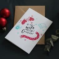 Hunter Paper Co   Wife Merry Christmas Card