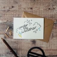 Hunter Paper Co. 'Under the Weather' Card