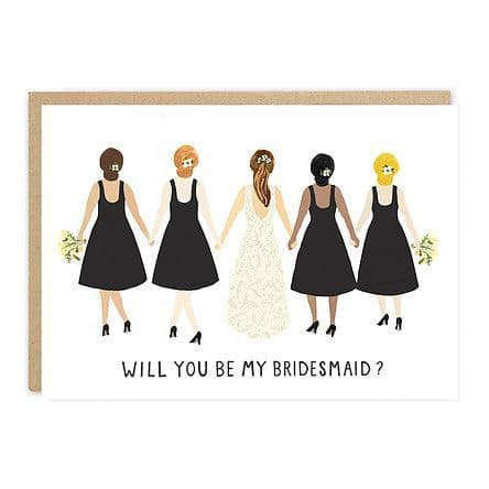 Jade Fisher - Will You Be My Bridesmaid? Card