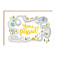 Jade Fisher 'You Passed' Card