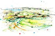 Kathryn Callaghan | From the 15th | Royal Portrush Print
