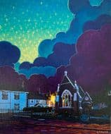 Kevin Collins | Clouds Over the Church Original