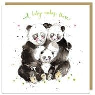 Louise Mulgrew | And Baby Makes Three Card