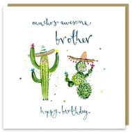 Louise Mulgrew | Awesome Brother Birthday Card