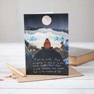 Mia Hague 'To See the World' Card