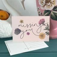 Oh Squirrel | Missing You Postcard