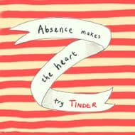 Poet & Painter | Absence Makes the Heart Card