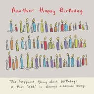 Poet & Painter | Another Happy Birthday'Card