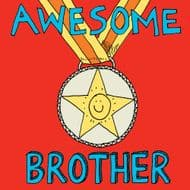 Poet & Painter | Awesome Brother Card