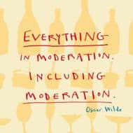 Poet & Painter | Moderation Oscar Wilde Quote Card