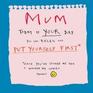Poet & Painter | Mum Put Yourself First Card