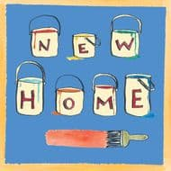 Poet & Painter | New Home Card
