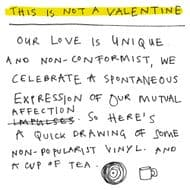 Poet & Painter | Not a Valentine Card