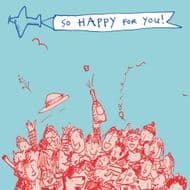 Poet & Painter | So Happy for You Card