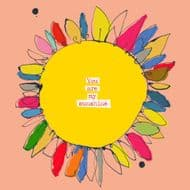 Poet & Painter | You Are My Sunshine Card