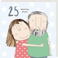 Rosie Made a Thing   25 Amazing Years Card