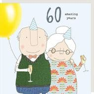 Rosie Made a Thing   60 Amazing Years Card