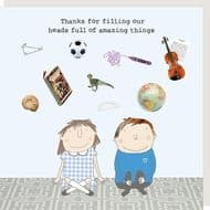 Rosie Made a Thing   Amazing Things Card