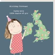 Rosie Made a Thing   Birthday Forecast Card