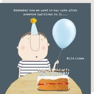 Rosie Made a Thing   Blown Birthday Candles Card