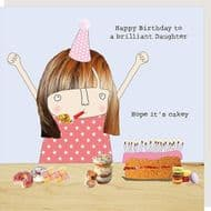 Rosie Made a Thing   Brilliant Daughter Birthday Card