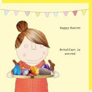 Rosie Made a Thing 'Easter Breakfast' Card