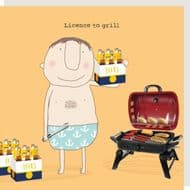 Rosie Made a Thing 'Licence to Grill' Card