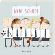 Rosie Made a Thing 'New School' Card