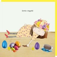 Rosie Made a Thing 'Over-egged' Easter Card