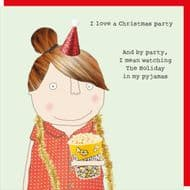 Rosie Made a Thing 'Pyjama Party' Christmas Card