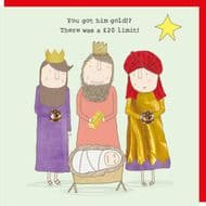 Rosie Made a Thing 'You Got Him Gold!?' Christmas Card