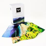 Stephen Whalley 'Newcastle' Silk Pocket Square