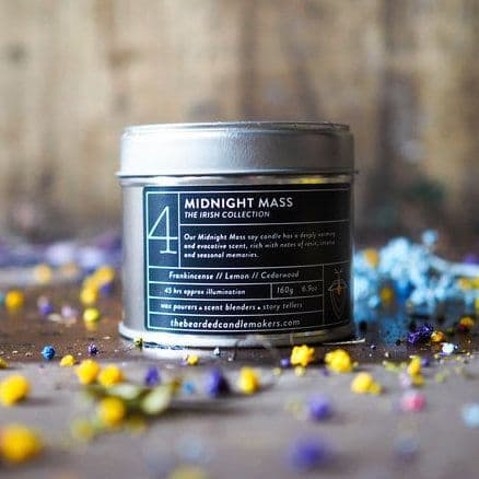The Bearded Candle Makers | 04 Midnight Mass Hand-Poured Soy Candle