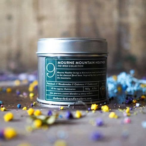 The Bearded Candle Makers | 09 Mourne Mountain Heather Hand-Poured Soy Candle