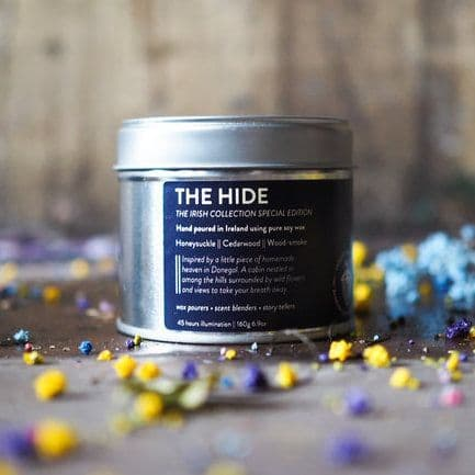 The Bearded Candle Makers   The Hide Donegal Hand-Poured Soy Candle