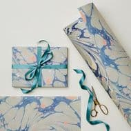 Wanderlust Paper Co | Grey Marbled Gift Wrap