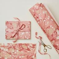 Wanderlust Paper Co | Pink Marbled Gift Wrap